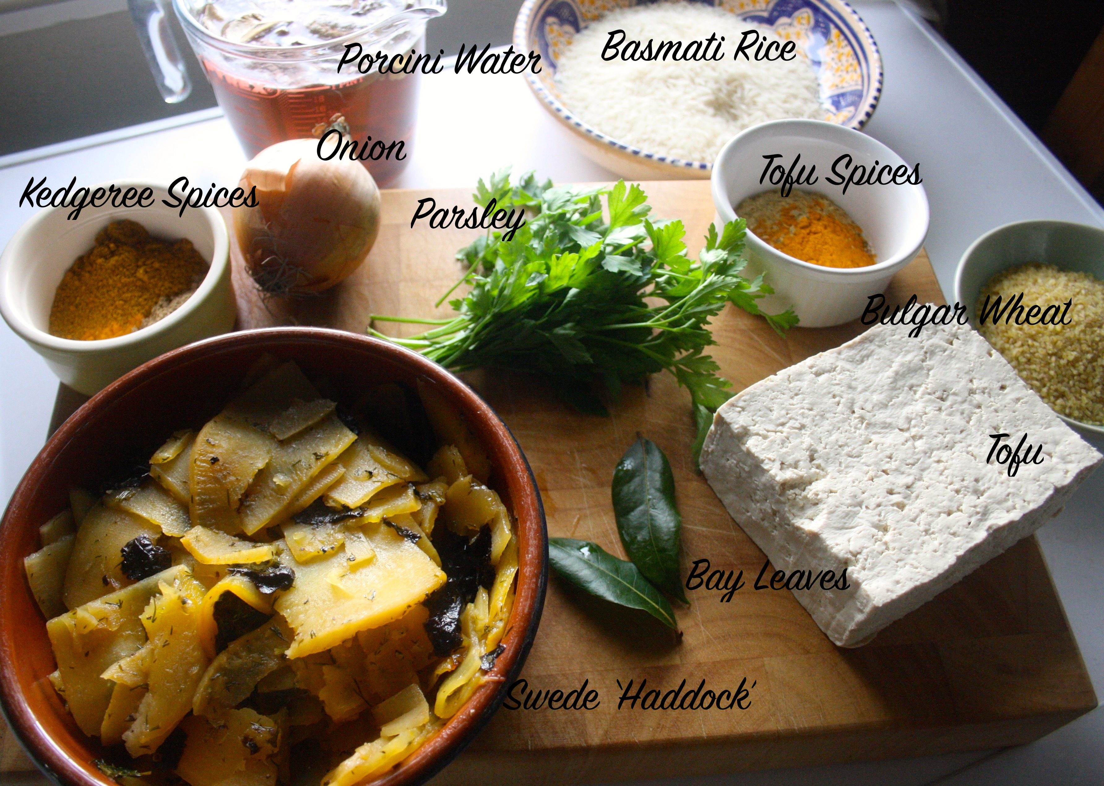 Vedgeree Ingredients